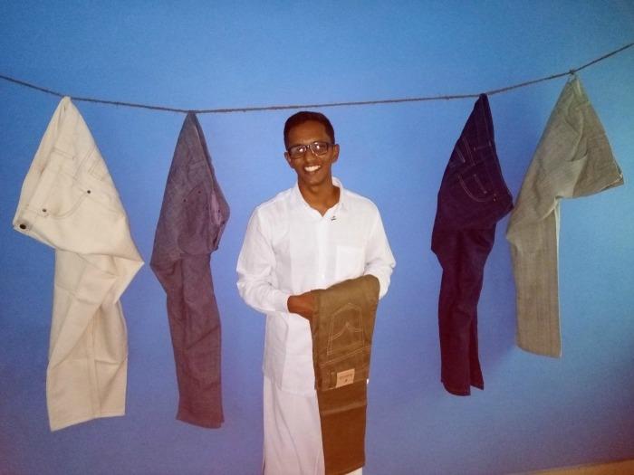 આ ભાઇએ બનાવ્યુ દેશી જીન્સ… તમામ ઓર્ડર પણ ભારતીય પોસ્ટના માધ્યમથી જ મોકલે છે. વાંચો…