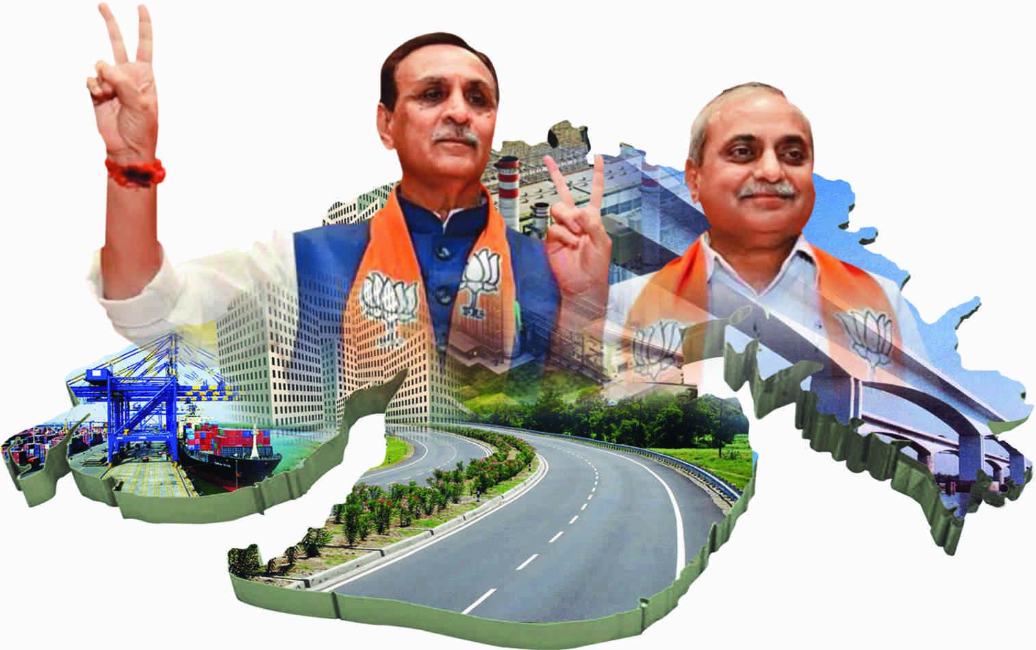 મુખ્યમંત્રી શ્રી વિજયભાઈ રૂપાણી અને નાયબ મુખ્યમંત્રી શ્રી નીતિનભાઈ પટેલના નેતૃત્વમાંવિકાસની રાહ પર ગુજરાતની આગેકૂચ