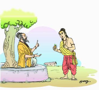 આરુણિ અને શ્ર્વેતકેતુ