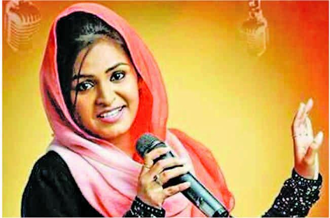 હિન્દુ સ્તુતિ ગાવા બદલ મુસ્લિમ યુવતીનું ફેસબુક પર અપમાન