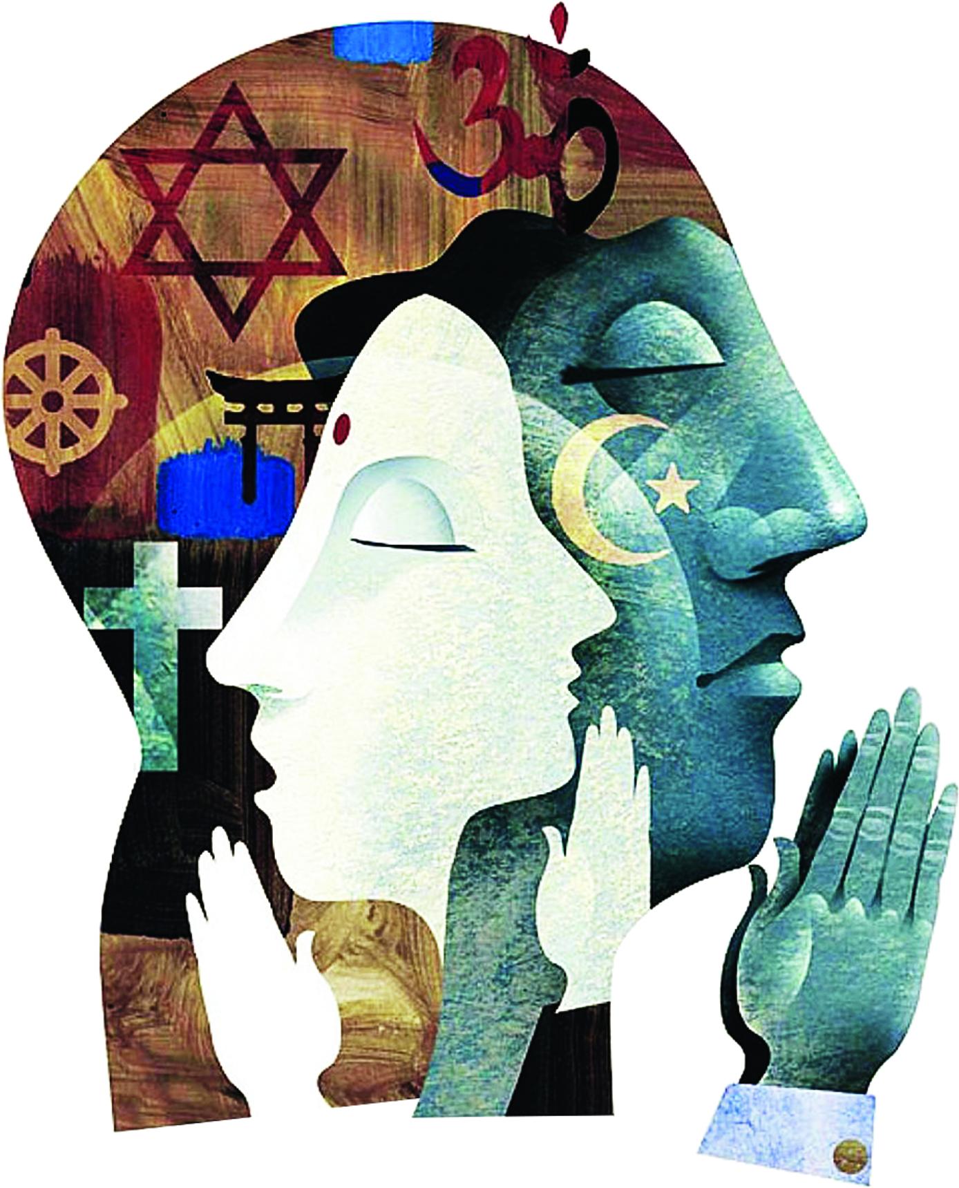 મન'રૂપી દીવાલ પવિત્ર હશે તો ત્યાં ધર્મનો આકાર આપી શકાશે