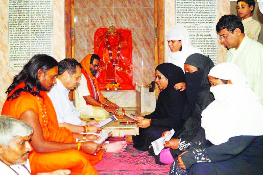 ત્રણ તલાકમાંથી મુક્તિ માટે મુસ્લિમ મહિલાઓએ હનુમાન ચાલીસાનો પાઠ કર્યો