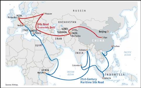 ચીનની નવી ચાલ - 'સિલ્ક રૂટ' ભારત માટે રેશમી નથી આ રાહ...!