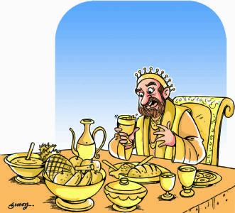 લોભી રાજા મિડાસ
