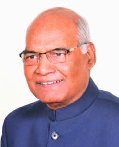 એનડીએના રાષ્ટ્રપતિપદનાં ઉમેદવાર : શ્રી રામનાથ કોવિંદ