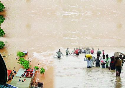 ગુજરાતમાં પૂરપ્રકોપ : બનાસકાંઠામાં ભારે તારાજીસમગ્ર સમાજ પૂરપીડિતોની વ્હારે