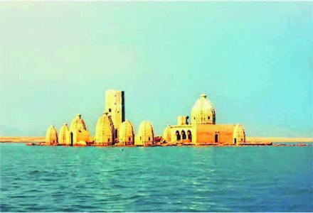 વર્ષના ૮ મહિના પાણીમાં ડૂબેલું રહે છે ભારતનું આ મંદિર