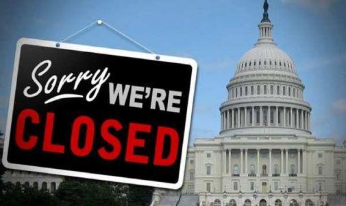 શટ ડાઉન' થઇ અમેરિકન સરકાર!