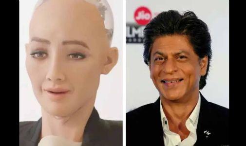 દુનિયાની પહેલી રોબોટ નાગરિકે કહ્યું, શાહરુખ ખાન મારરો મનગમતો અભિનેતા