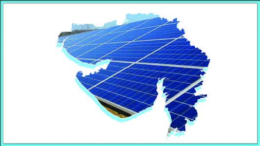 સૌર ઊર્જાના પ્રયોગમાં ગુજરાત પ્રથમ હતું