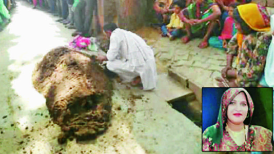 બુલંદ શહેરમાં મહિલાને સાપ કરડતાં સારવાર કરાવવાને બદલે ભેંસના છાણમાં દબાવી દીધી