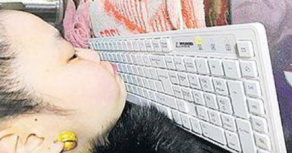 આ બહેને હોઠથી કમ્પ્યુટર પર લખ્યા છે ૧૮ લાખ શબ્દો