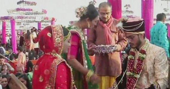સૌરાષ્ટ્ર પટેલ સેવા સમાજના સમૂહ લગ્નમાં ચાંદલાના ૬૧ લાખ શહીદોના પરિવારજનોને અપાશે