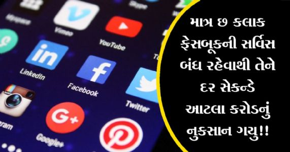 Facebook, WhatsApp અને Instagram ની સર્વિસ બંધ રહેવાથી તે કંપનીઓને જે નુકસાન થયુ તે આંકડો જાણશો તો ચોંકી જશો!!